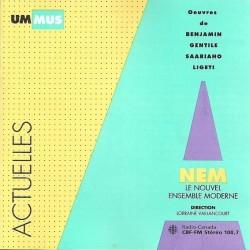 Nouvel Ensemble Moderne – Benjamin, Gentile, Saariaho, Ligeti